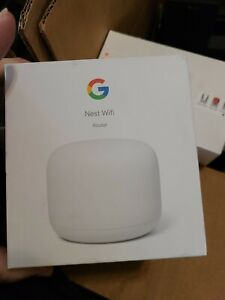 Google Nest Wi-Fi Router new open box bought as overstock