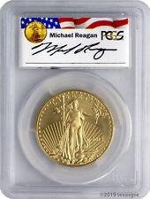 2013 $50 Gold Eagle Pcgs Ms70 - Reagan Legacy Series