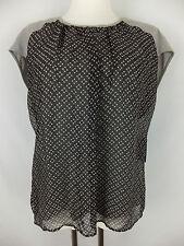 JOOP!  T-Shirt mit Seide 42 - neu m. Etikett - grau - Lagenlook  schönes Muster