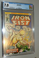 IRON FIST #4 CGC 7.0 BYRNE ART