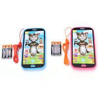 Bebé simulador de música de teléfono de pantalla táctil juguete educativo