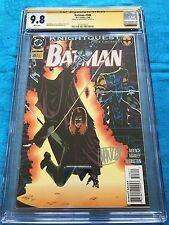 Batman #508 - DC - CGC SS 9.8 NM/MT - Signed by Mike Manley