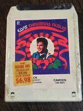 Elvis Presley Christmas Album SEALED 8 TRACK