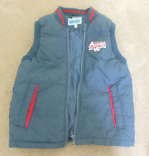 Boy winter warm vest coat gillet jacket size 9 y 134 cm New