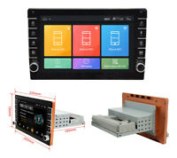 """8"""" Car Stereo Radio Android 8.1 Single Din 1080P GPS OBD Mirror Link Adjustable"""