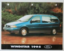 FORD WINDSTAR 1995 dealer Sheet brochure - French - Canada - ST501000918