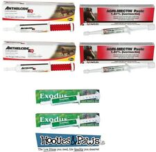 Horse Wormer Equine Ivermectin Rotational Yearly Worming Paste Kit Value