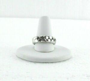 Scott Kay Platinum Men's Woven Ring - Size 7- Wt. 12.32g - Retailed at $4,300
