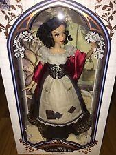 "Walt Disney Store Doll Snow White 2017 Limited Edition Art 17"" InHand"