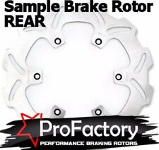 Kawasaki Kx85 Kx 85 Rear Brake Rotor Disc Pro Factory Braking 2001-2014