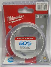 "Milwaukee Hole Dozer ™ sierras de corona 64mm bi- Metal 2 1/2"" PULGADAS 49560147"
