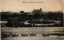 CPA Reims-Panorama, pris de la Gare (347032)