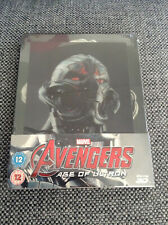 Marvel Avengers: Age of Ultron [Lenticular] Blu-Ray Steelbook NEW SEALED