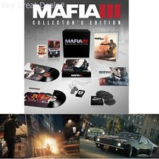 Mafia III Collectors Edition For PlayStation 4 Ps4 Games Factory Sealed New