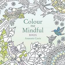 Colour me Mindful Birds - Adult Colouring - Art Therapy 50 BEAUTIFFULL DRAWINGS