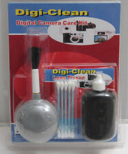 Camera & LCD Screen Cleaning Kit - Swabs, Tissue, Cleaning Fluid - NEW F28