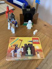 Lego Rare Vintage Castle 6034 Black Monarch's Ghost 109% Complete Dragon Knight