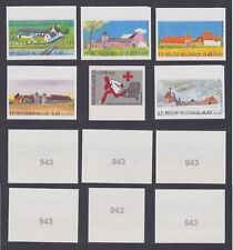 Belgique 2001 Cob# 3017/22 NON DENTELES Imperforate MNH - Cat Val 65€......A4439