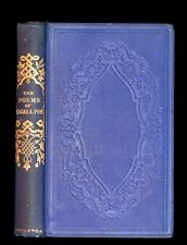 1876 Rare Victorian Book - Poems by Edgar Allan POE (The Raven, Lenore, Ulalume,