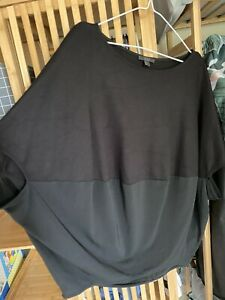 COS Oversized Draped Top Size S