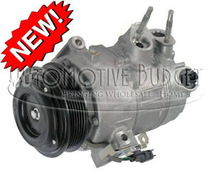 A/C Compressor w/Clutch for Ford Fusion SE & SEL 2013-2020 - NEW