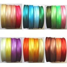 Satin Acetate Bias Binding Tape 19mm-20mm Wide Various Colours & Cut Lengths 55