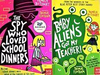 Pamela Butchart Collection 2 books set Baby Aliens Got My Teacher & The Spy Who