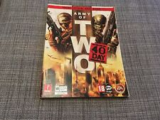 ARMY OF TWO:THE 40TH DAY Official Strategy Guide PS3 + XBOX 360