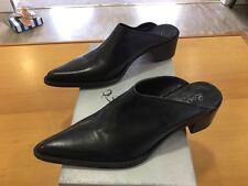 ROCCO P - Sabot Donna pelle nera - Made in Italy - Taglia 38,5