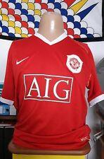Maglia calcio shirt soccer camiseta maillot de foot MANCHESTER UTD Nike XL AIG