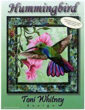 Hummingbird Bird Flower Toni Whitney Designs Fusible Applique Quilt Pattern