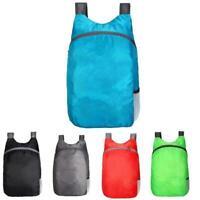 Folding Waterproof Backpack Portable Outdoor Handy Bag 20L Capacity Best M5D1
