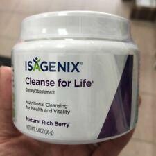 ISAGENIX CLEANSE FOR LIFE DIETARY SUPPLEMENT NUTRITIONAL CLEANSING EXP 11/2021