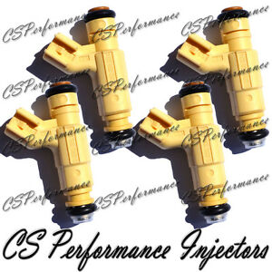 OEM Bosch Fuel Injectors Set (4) 0280155974 for 2000-2001 Ford Focus 2.0L I4 SE