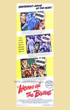 HOME OF THE BRAVE Movie POSTER 27x40 B