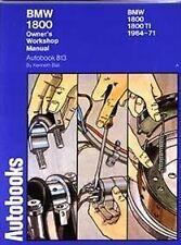 AUTOBOOKS OWNERS WORKSHOP MANUAL SERVICE REPAIR BOOK BMW 1800 TI 1964-1971