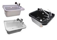 Ausgussbecken 50x34x27 Waschbecken Spülbecken inkl. Ausziehbare Einhandmischer