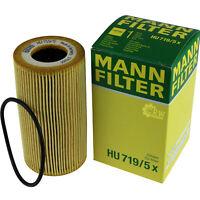 Original MANN-FILTER Ölfilter Oelfilter HU 719/5 x Oil Filter