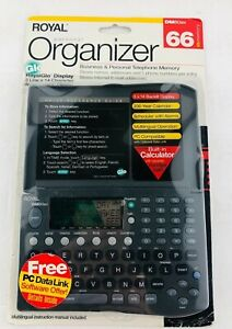 Royal Personal Organizer DM80ex Business and Personal Phone Email Organizer