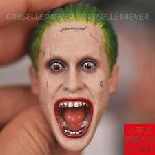 TC TOYS  Scream Jared Leto Joker 1/6 Head Sculpt Arkham Asylum Suicide Squad