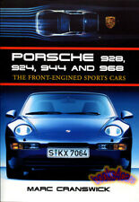 PORSCHE FRONT ENGINED SPORTS CARS HISTORY BOOK CRANSWICK 928 924 944 968