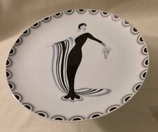 High Society Fine China VERY RARE  Seymour Mann Cake Stand  MCMLXX Made in Japan