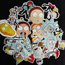 35pcs Rick And Morty Car Sticker Random Character Ric Cool Mor Auto Sticker DIY