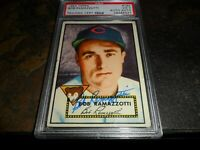 1952 Topps #184 BOB RAMAZZOTTI Signed Autographed CHICAGO CUBS PSA/DNA D.2000