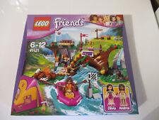 LEGO Friends 41121 Rafting à la Base D'Aventure boîte neuve et scellée rare