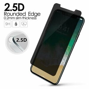 Nuglas Privacy Glass Screen Protector iPhone 13 12 11 Pro Max Xr Xs Mini 8 7 6+