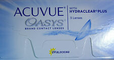 ACUVUE OASYS  mit Hydraclear Plus  3 Linsen