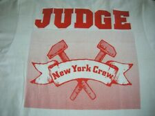 JUDGE New York Crew - Schism Records -EXTREMELYRARE T-SHIRT Size L