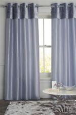 NEXT Eyelet Curtains 53 x 90   BRAND NEW   135cm x 229cm   Crushed Velvet Band