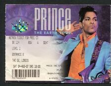 Original Prince 2007 Concert Ticket Stub O2 Arena London Planet Earth